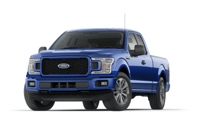 2018 Ford F150 Lightning Blue