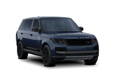 2018 Range Rover Loire Blue with Black Wheels and Trim