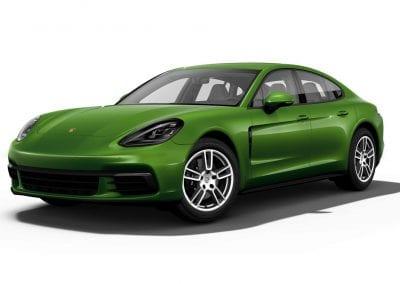 2018 Porsche Panamera Mamba Green