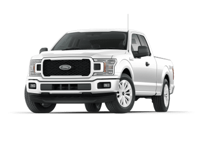 2018 Ford F150 Oxford White Wheels and Trim