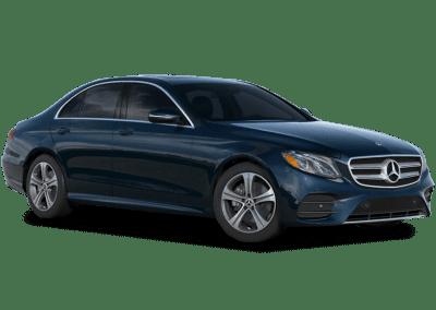 2018 Mercedes-Benz E Class Body Color Piedmont Green