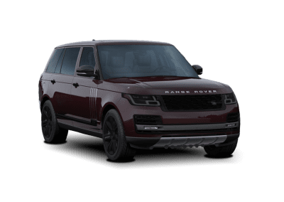 2018 Range Rover Rossello Red with Black Wheels and Trim