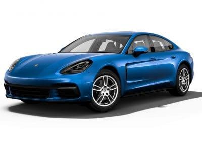 2018 Porsche Panamera Sapphire Blue