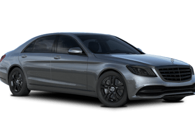 2018 Mercedes-Benz S Class Selenite Grey with Black Wheels and Trim