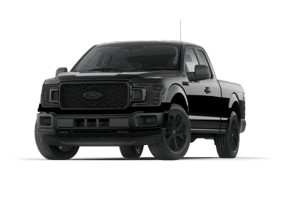 2018 Ford F150 Shadow Black with Black Wheels and Trim