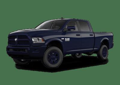 2018 Dodge Ram True Blue Wheels and Trim