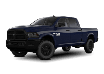 2018 Dodge Ram True Blue with Black Wheels and Trim